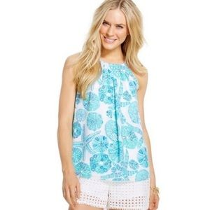 Lilly Pulitzer x target halter top size XS